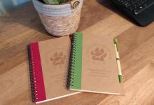 LAA Notebook and Pen Fab stocking filler! image